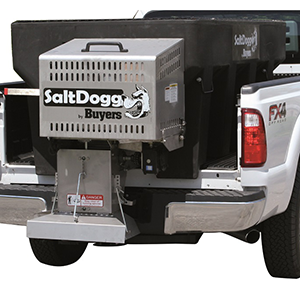 1400400 - Buyers Saltdogg Poly Gas 8', 2.0 yd Hopper Spreader