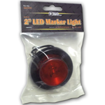 5622101 - LIGHT,2in ROUND,MARKER,1 LED,RED