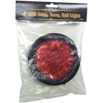 5624110 - LIGHT,4in ROUND,STT,10 LED,RED,W/