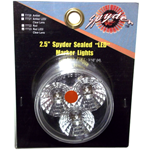 "77723 - 2.5"" Spyder Sealed LED Marker Light, Red"