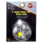 "77781 - 2"" Spyder Sealed LED Marker Light, Amber"