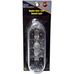 83812 - SPYDER WHITE OVAL SEALED LED LIGHT W/ CLEAR LENS