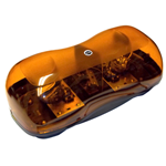 8891020 - LIGHTBAR,MINI,HALOGEN,AMBER,MAGNETIC