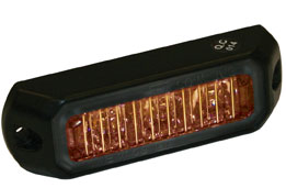8891400 - LIGHT,STROBE,3-3/8in ,3 LED, AMBER