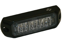 8891401 - LIGHT,STROBE,3-3/8in ,3 LED, CLEAR