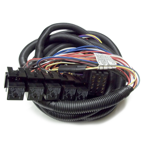 MSC08001 - WIRING HARNESS,13 PIN,VEH SIDE,08+