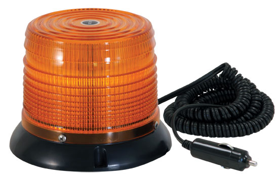 SL645ALP - LIGHT,STROBE,12 LED,AMBER,QUAD FLASH,12V