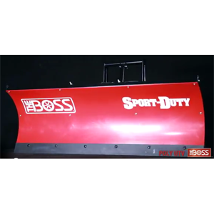 "B60UTVPS - 6'0"" UTV Straight Poly"