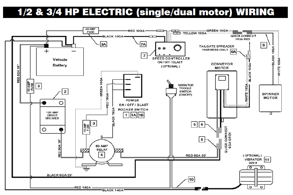 waltco liftgate circuit diagram