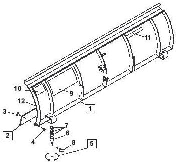 indented parts are included in the assembly under which they are listed   quantities shown are included with the assembly